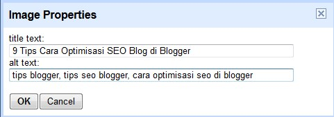 Optimalisasi gambar di blogspot, cara Optimalisasi gambar di blogspot,setting Optimalisasi gambar di blogspot